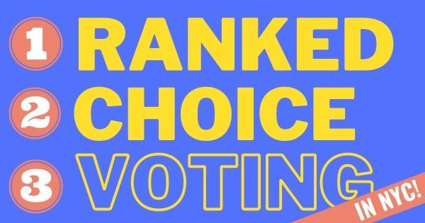 Ranked Choice Voting in NYC graphic