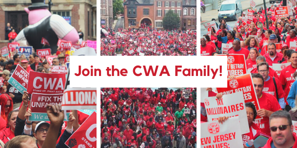 Graphic with CWA member pictures