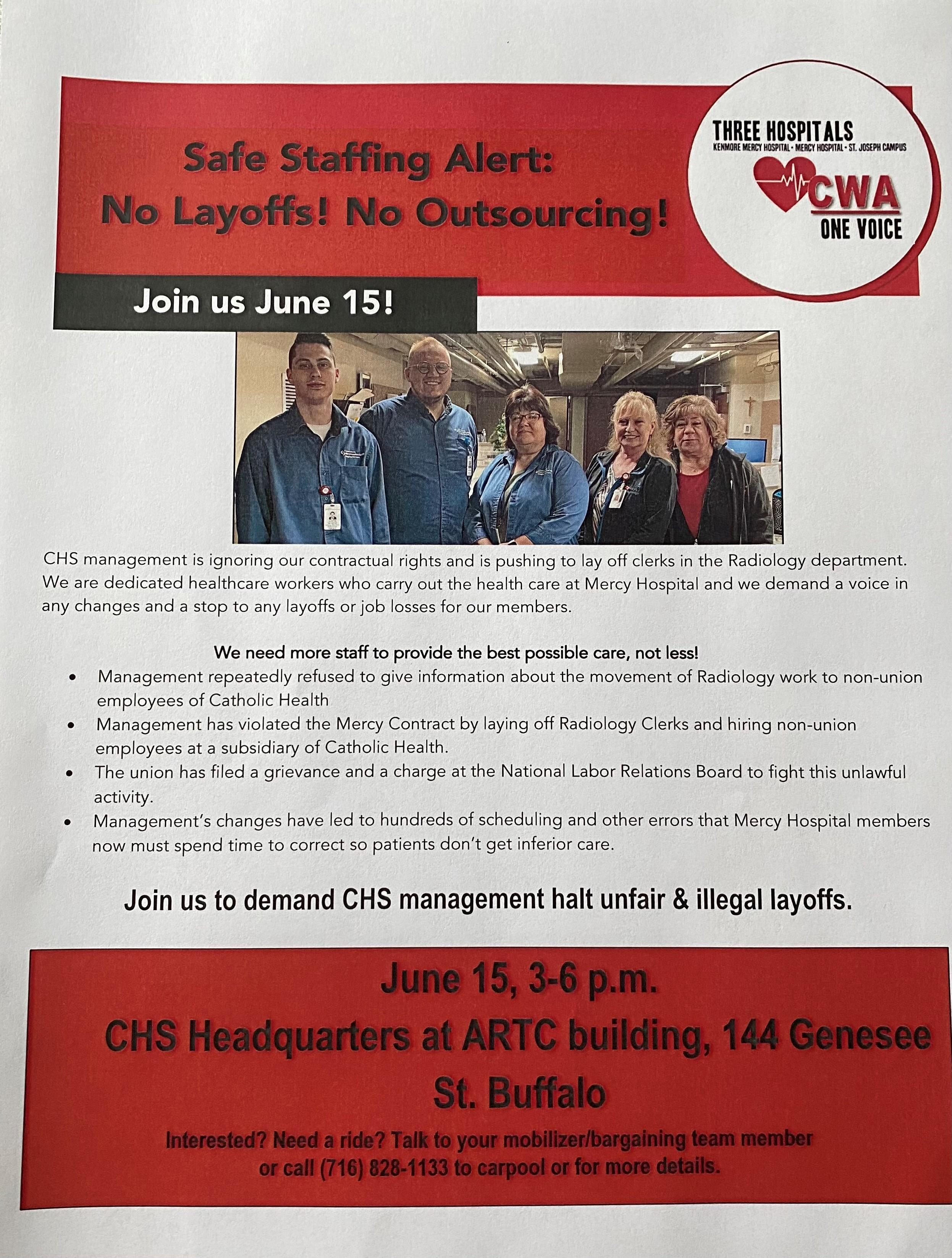 Rally to Stop Union Busting